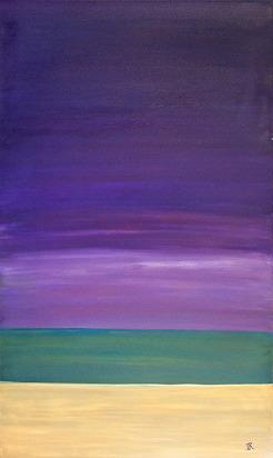 """Sky,Sea,Sand (36""""x60"""")"""