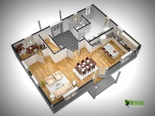 3d Floor Plan Design Yantram Studio 3d Architectural Animation Virtual Reality And Augmented Reality Apps Development